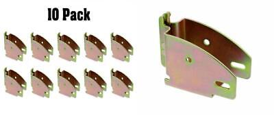 ABN E Track Accessories Wood Beam Socket Spring Fittings 10-Pack E-Track Lumber Hanger /& Cargo Storage Shelf Brackets