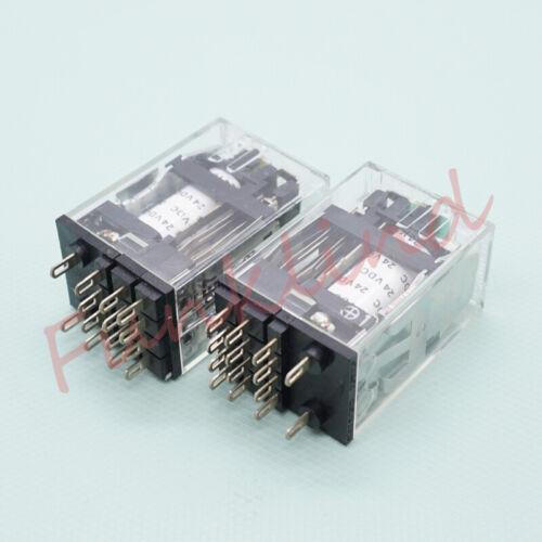 G2A-432A-N1 G2A-432A 24VDC Omron Relé 4PDT 24VDCx10PCS de uso general