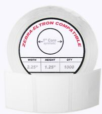 1 Roll 1000 Labels 225 X 125 Polypropylene Labels White Waterproof Direct