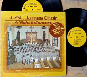 BLACK-GOSPEL-double-LP-THE-ST-JAMES-CHOIR-A-Night-In-Concert-SOUND-OF-GOSPEL