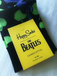 New-Beatles-Rare-Collector-Apple-Bonker-Yellow-Submarine-Happy-Socks-NWT-1st-Q
