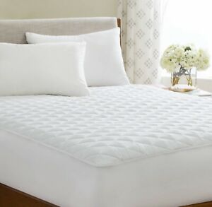 Extra-Deep-Quilted-Mattress-Bed-Protector-Topper-Fitted-Cover-Double-King-Size