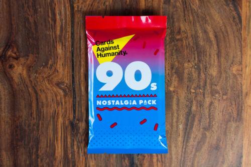 Carte contro l/'umanità espansione anni/'90 Nostalgia Pack NUOVO-RARE veloce spedizione dal Regno Unito