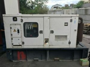 1999-CAT-3056T-100KW-Diesel-Generator-1800RPM-All-Complete-and-Run-Tested
