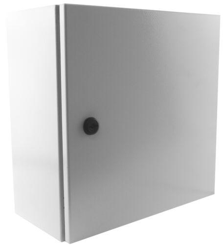 """YuCo 16/"""" 16/"""" 8/"""" Metal Nema Type 4 Enclosure w b pl YC-16X16X8-UL Certified by UL"""