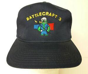 Vintage-US-Navy-Battlecraft-3-Embroidered-Snapback-Hat