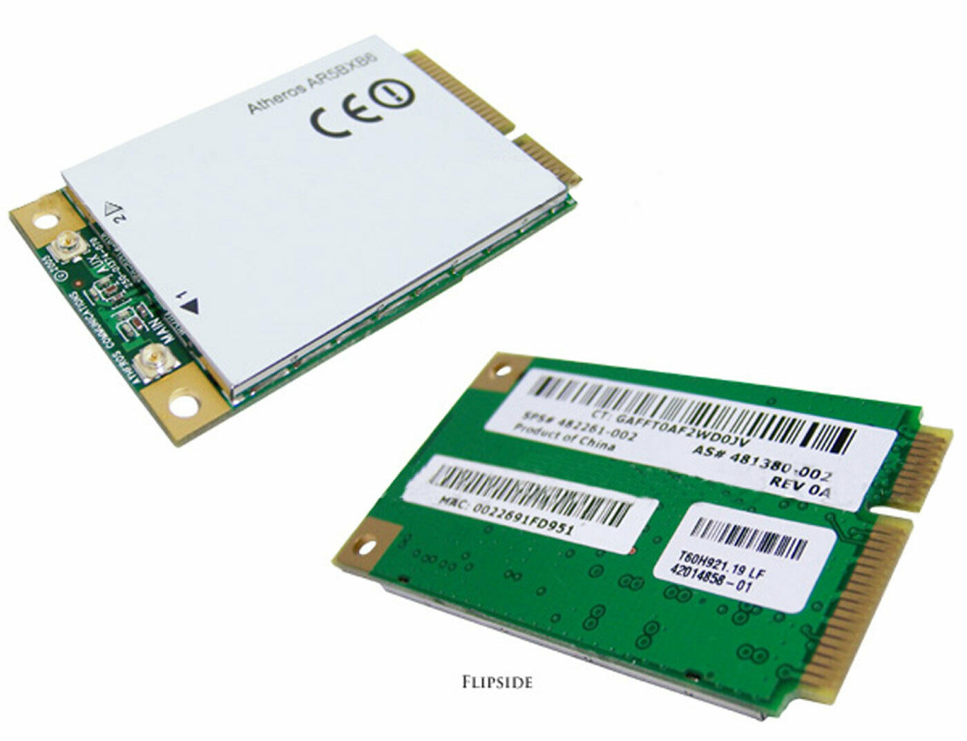 Atheros Wireless Mini-PCIe WiFi LAN 11abg Card AR5BXB6 a/b/g ThinkPad 481380-002