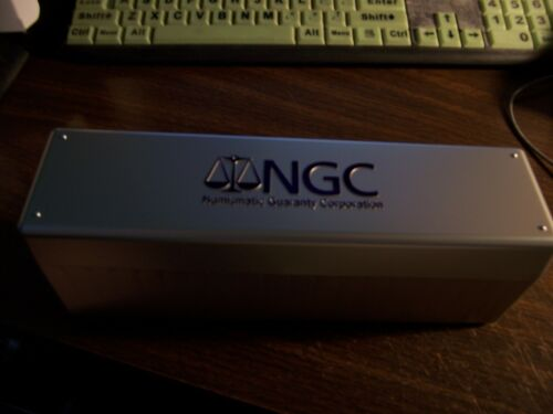 NGC-OFFICIAL BOXES-HOLDS 20@ SLABBED NGC COINS-PROTECT YOUR NGC COINS LOT OF 4