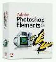 NEW IN BOX Adobe Photoshop Elements 5.0 Windows XP Software CD Manuals FREE SHPG
