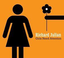 Richard Julian - Girls Need Attention [New CD]