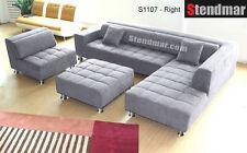 4-Piece Microfiber Sectional Sofa Set S1107LG