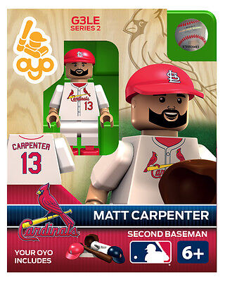 Matt Carpenter OYO ST Louis Cardinals MLB Mini Figure NEW G3 RARE