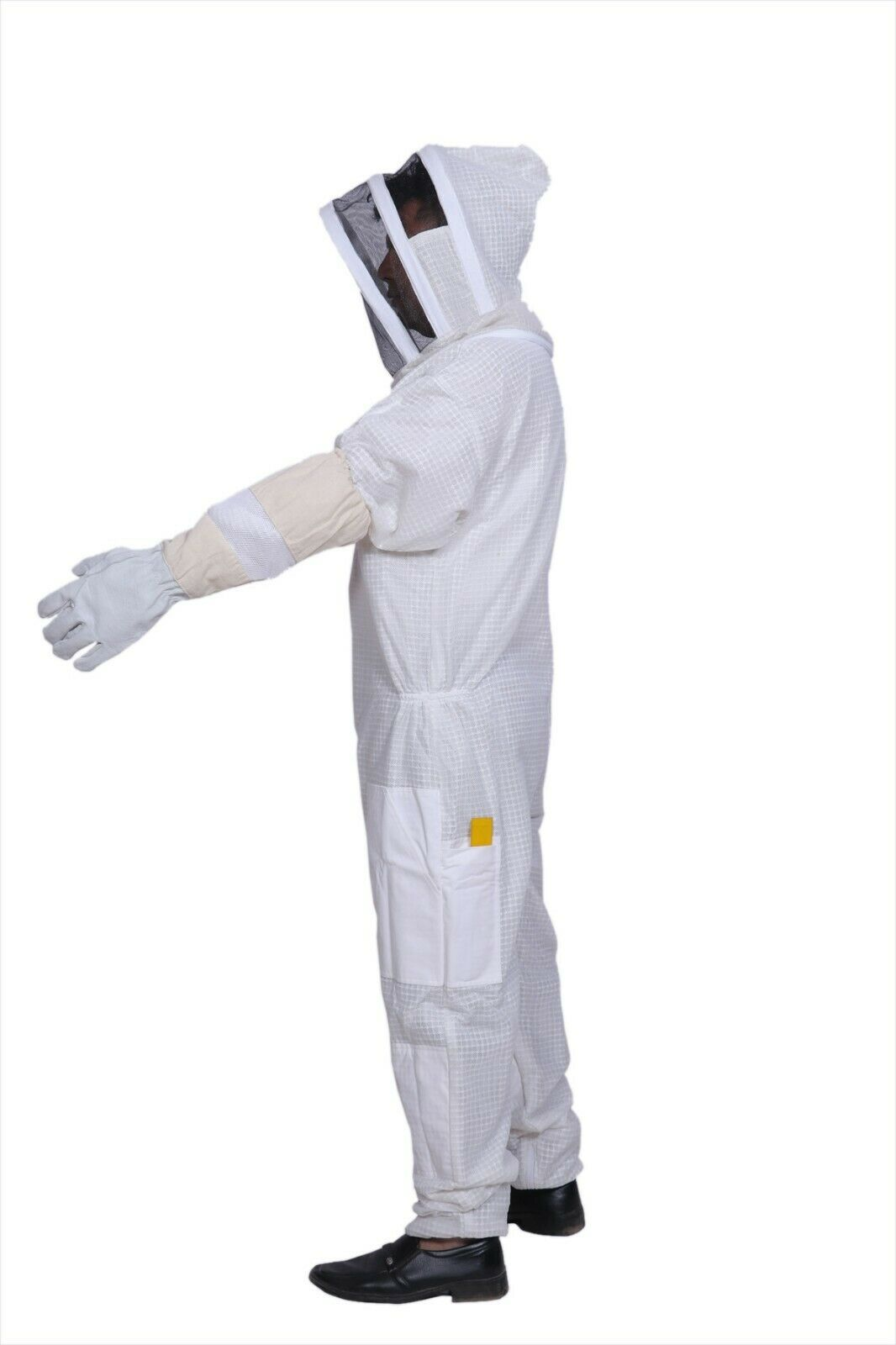 8XL Ventilated Bee Suit 3 layer mesh Beekeeping costume Beekeeper Ultra vented