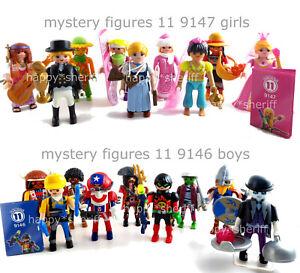 Playmobil-Figuras-De-Misterio-Serie-11-9146-9147-nino-y-nina-eleccion-Nuevo