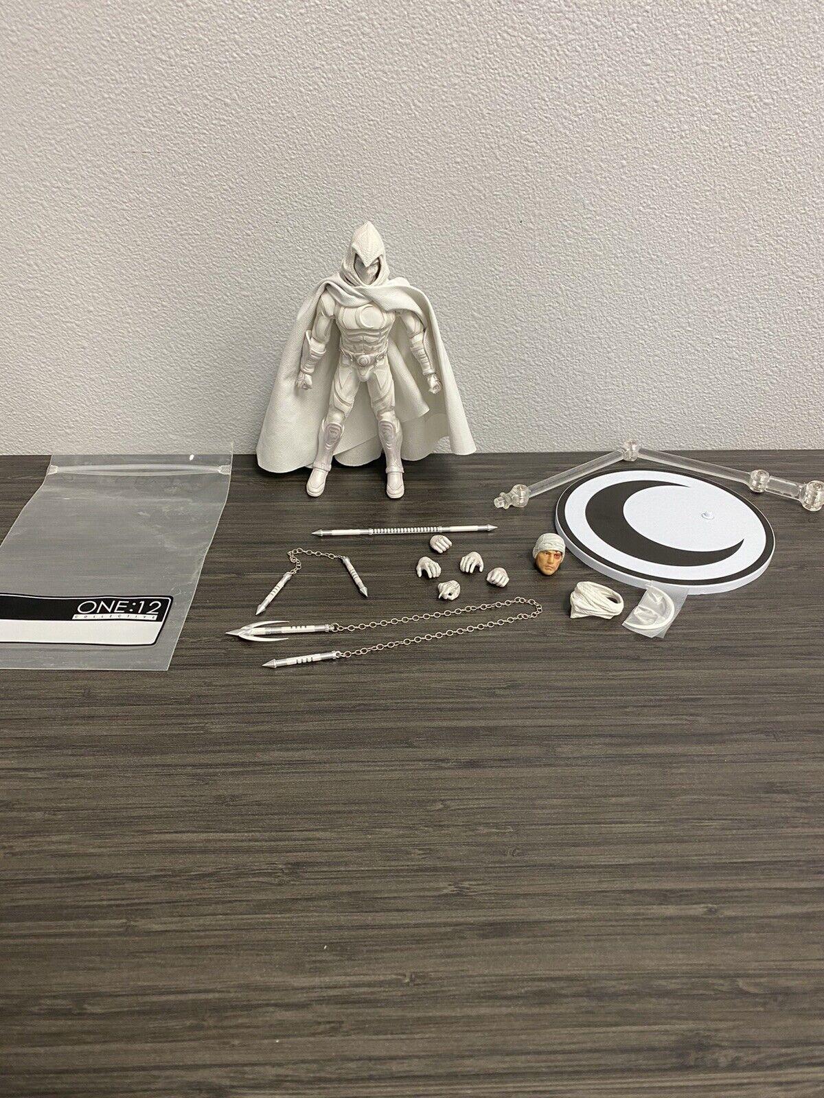 "Mezco One 12 Moon Knight Figure Loose Marvel 6"" on eBay thumbnail"