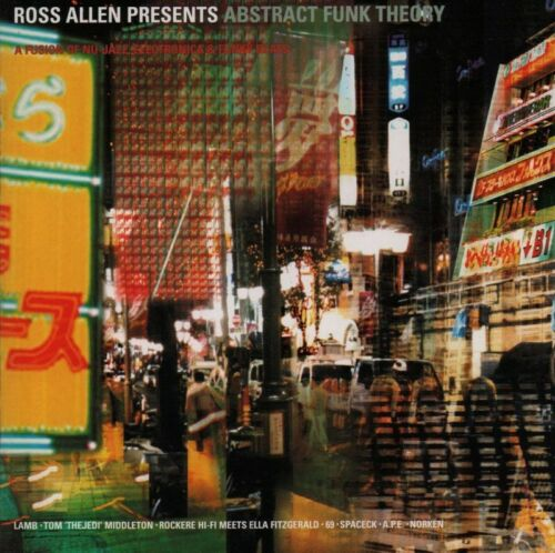 1 of 1 - Ross Allen(CD Album)Abstract Funk Theory-Obsessive-EVSCD03-VG