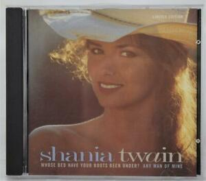 Details About Shania Twain Whose Bed Have Your Boots Been Under Any Man Of Mine Radio Version
