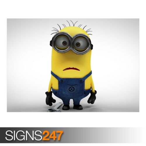 Photo Picture Poster Print Art A0 A1 A2 A3 A4 MINION FUNNY POSTER AD366