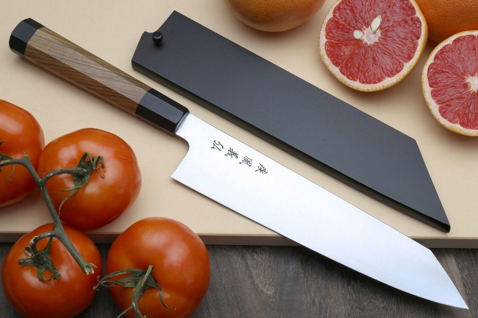 Yoshihiro SG-II (R-2) Semi-Inoxydable Kiritsuke japonais multifonction Chef Couteau