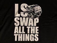BOOSTED 5.3 Logo Turbo LSX LS1 Swap Truck Engine Men/'s T-Shirt S M L XL 2XL 3XL