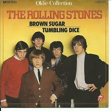 7'Rolling Stones  Brown Sugar/Tumbling Dice   RAR!! 60's  GOLD/OLDIE COLLECTION