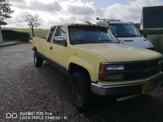 Chevrolet Pick-Up, Diesel, 4x4, aut. 1993, km 260000, gul,…