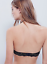 NEW Free People Intimately All That Glitters Black Metallic Lace Halter Neck Bra