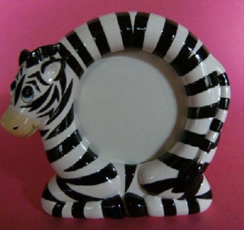 Dinosaurier Teddy Bär Bilderrahmen Keramik neu Zebra o 1 Fotorahmen Katze