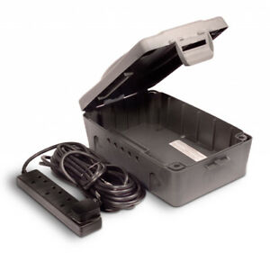 Masterplug-Resistant-Aux-Intemperies-Boitier-Box-Outdoor-Power-10-M-Principal-Extension-Lead-ip54
