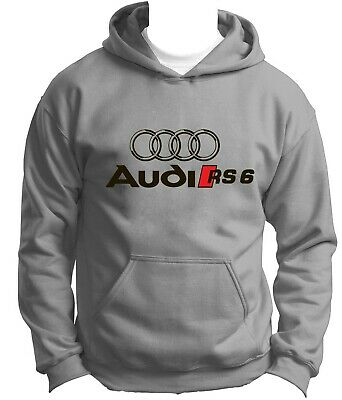 MENHERREN SWEATSHIRT AUDI rs6 CAR SWEAT HOODIE Pullover