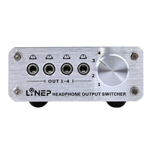 Digital-4-In-4-Out-3-5mm-Mp3-Audio-Signal-Switcher-for-Headphone-w-4-Cable