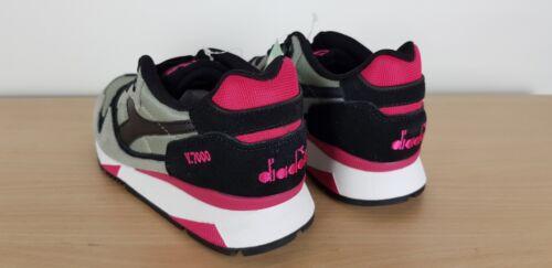 Ladies 5 Boys Diadora Sports Girls Retro Unisex Trainers Uk V7000 Mens Grigio qEPrtP