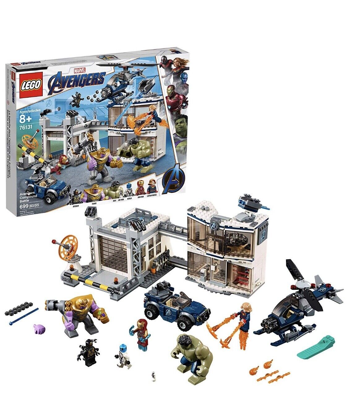 LEGO marvel avengers endgame sets-76131 Building Kit, New 2019 (699 Pieces)
