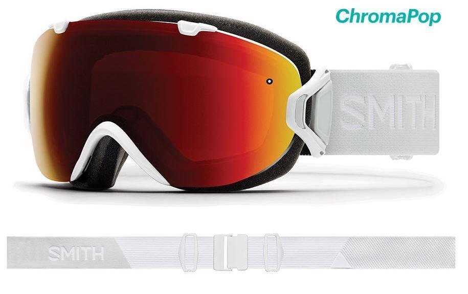 Smith I  OS 2019 CHROMAPOP Sun Red Mirror Snow Goggles White Vapor Women's  enjoying your shopping