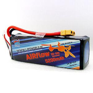 Lipo-World-AIRflow-Akku-4S-14-8V-5200mAh-30C-50C-DJI-Nova-Blade-Quadrocopter-UAV