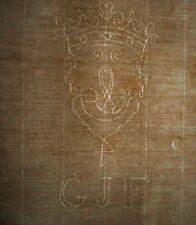 1816 carta a duque wilhelm en Baviera bisabuelo Sisi + Watermark gjf post cuerno