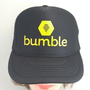 4117efaae Details about BUMBLE - COBRA BRAND - TRUCKER STYLE ADJUSTABLE SNAPBACK BALL  CAP HAT!