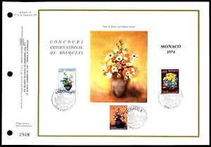 Monaco Cef 1973 Flore Fleurs Finition Orchidée Bouquet Ltd. Only 5.250!!! Zf38-afficher Le Titre D'origine