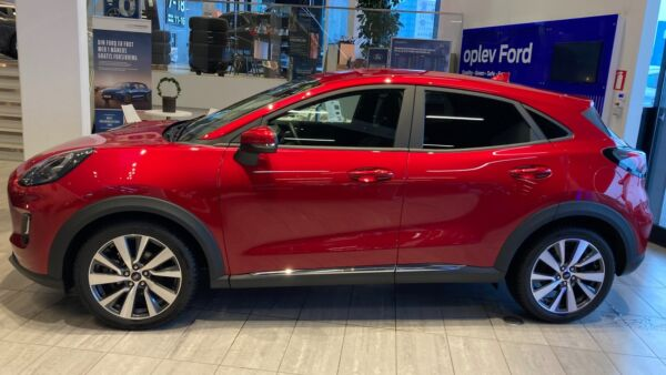 Ford Puma 1,0 EcoBoost mHEV Titanium X - billede 1