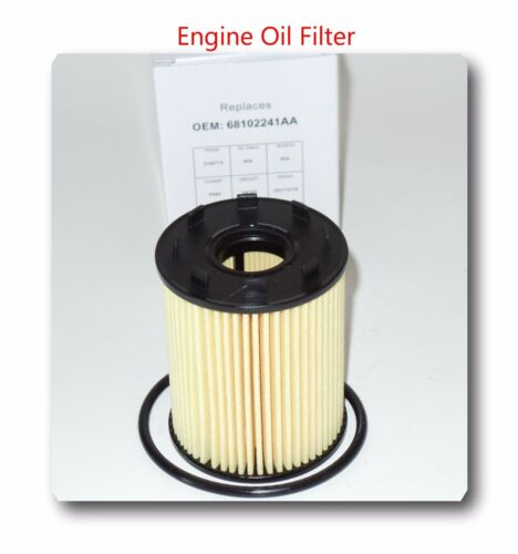 Case of 12 Engine Oil Filter 68102241AA Fits Fiat 500 Dodge Dart Jeep Renegade