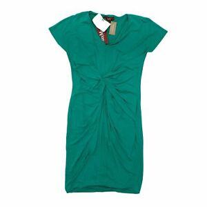 Max Mara Women's Midi Dress XL Green, Blend - viscose