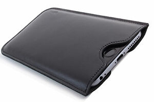 HTC-ONE-M8S-Cuero-Funda-de-Movil-Negro-Estuche-Bolsita-Cubierta-DESEO-GRABADO