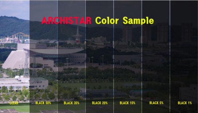W:76cm/VLT 35% Black Solar Film/Tint/Window/Safety/Glass/Nomal/Privacy/Roll/