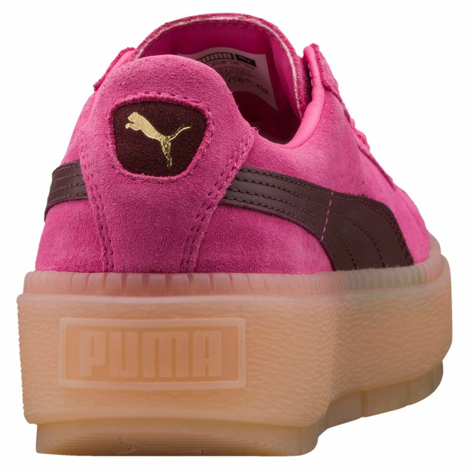PUMA - 367057 02 02 02 - SUEDE - Women's shoes Fashion Sneakers - Pink - Size 8 45a164