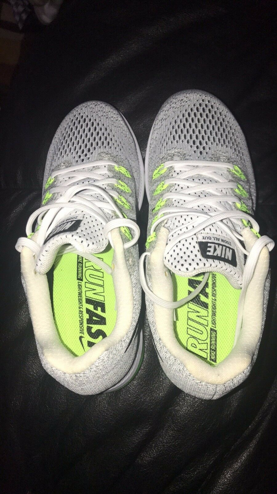 nike women zoom sneakers size 6.5.  brand new, color white.