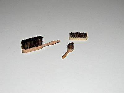 Household Brushes Miniatures Germany 1/12th Scale