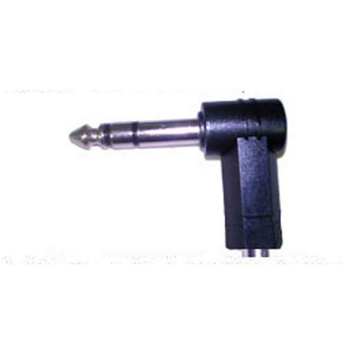 3.5mm Jack to 6.35mm Right Angle Jack Stereo Adaptor UK