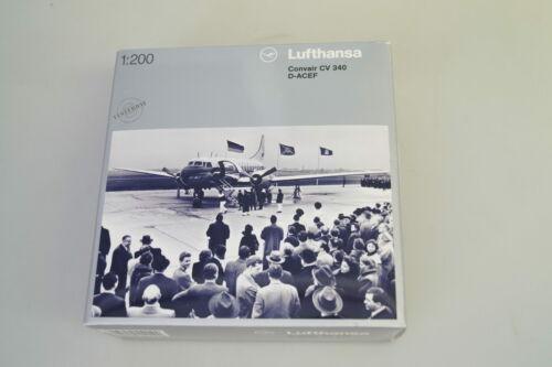 1:200 Herpa 551199 Convair CV 340 lufthansa mercancía nueva//embalaje original