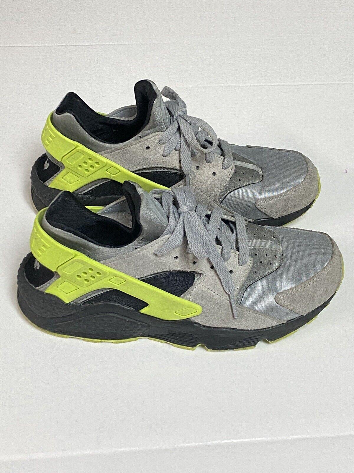Size 8 - nike huarache mens Sneakers Gray Neon Gr… - image 1