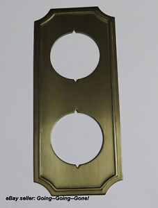 Merveilleux Image Is Loading 1960 039 S WESLOCK DOOR KNOB TRIM DECORATIVE